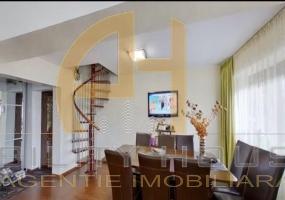Apartament pe 2 nivele, zona Piata Viilor ( Primaverii), Botosani
